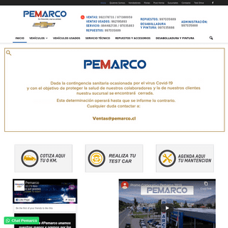 Pemarco - Chevrolet Rancagua y San Fernando