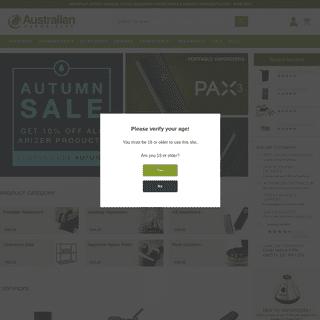 Australian Vaporizers - Online Vaporizer Store