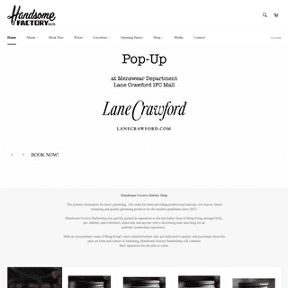 ArchiveBay.com - handsomefactory.com - Handsome Factory Barbershop