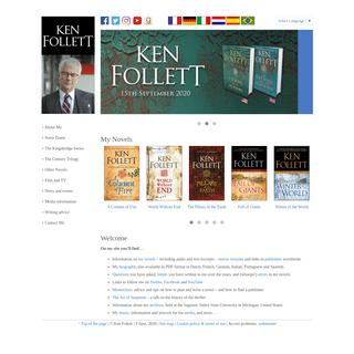 Ken Follett - Welcome