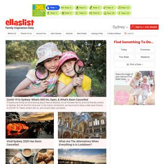 Activities for Kids, Toddlers, Preschoolers, Tweens, Teens & - ellaslist