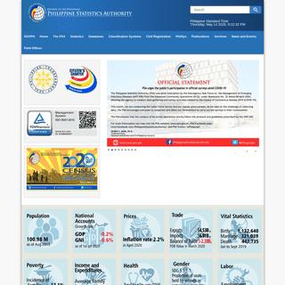 ArchiveBay.com - psa.gov.ph - Philippine Statistics Authority - Republic of the Philippines