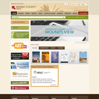 Home - Ramsey County Libraries