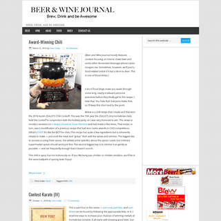 ArchiveBay.com - beerandwinejournal.com - The Beer and Wine Journal™ — Brew, Drink, and Be Awesome.