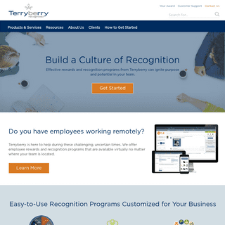ArchiveBay.com - terryberry.com - Employee Rewards Program - Employee Recognition Gifts - Terryberry