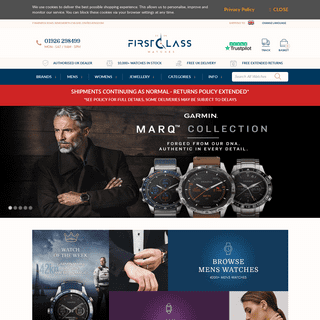 First Class Watches™ - Buy watches from an official UK retailer