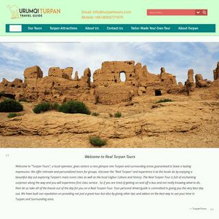ArchiveBay.com - turpantours.com - Turpan Travel Guide