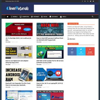 CleverTutorials - How To Tutorials, Tech Guides, Tips & Tricks