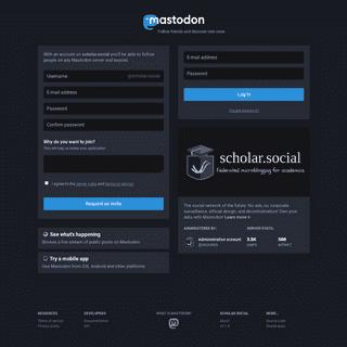 scholar.social - Scholar Social