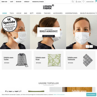ArchiveBay.com - leinenfabrik.de - LEINENFABRIK