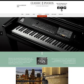 Classic Pianos -- Home