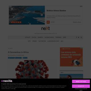 ArchiveBay.com - www.nextquotidiano.it/coronavirus-in-africa/ - Il Coronavirus in Africa