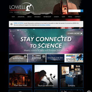 The Home of Pluto - Lowell Observatory in Flagstaff, AZ