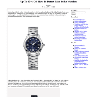 Up To 45- Off How To Detect Fake Seiko Watches - Watches Of Switzerland Sold Fake Watch - Replica Watches Basedout Of Where