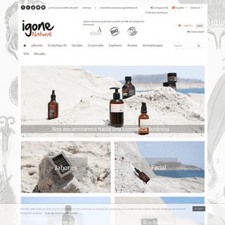 IgoneNatural, cosmética natural, belleza y medicina botánica - Igone Natural