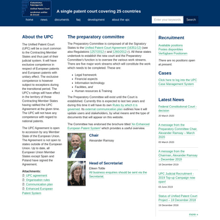 ArchiveBay.com - unified-patent-court.org - Unified Patent Court - A single patent court covering 25 countries