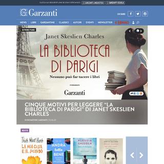 Garzanti - Il sito di chi ama leggere