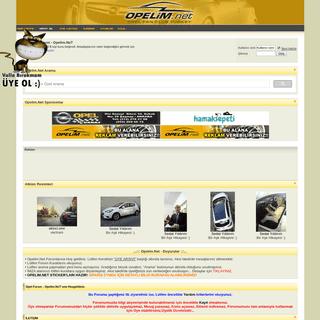 ArchiveBay.com - opelim.net - Opel Forum - Opelim.NeT - Opel Forum, Opelim, Opel Fun club, Opel Fan Club, Opel Teknik Servis, Opel Corsa, Opel Vectra, Opel Ca
