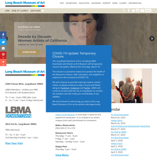 Long Beach Museum of Art - Long Beach Museum of Art
