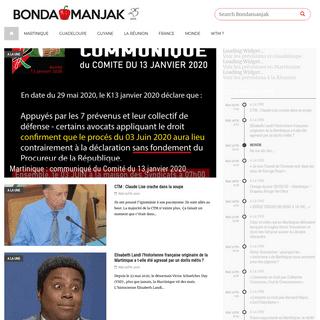 Bondamanjak - Site d'actualité Antilles - Guyane - Réunion