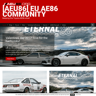 [AEU86] EU AE86 community - Keeping the Toyota AE86 alive!