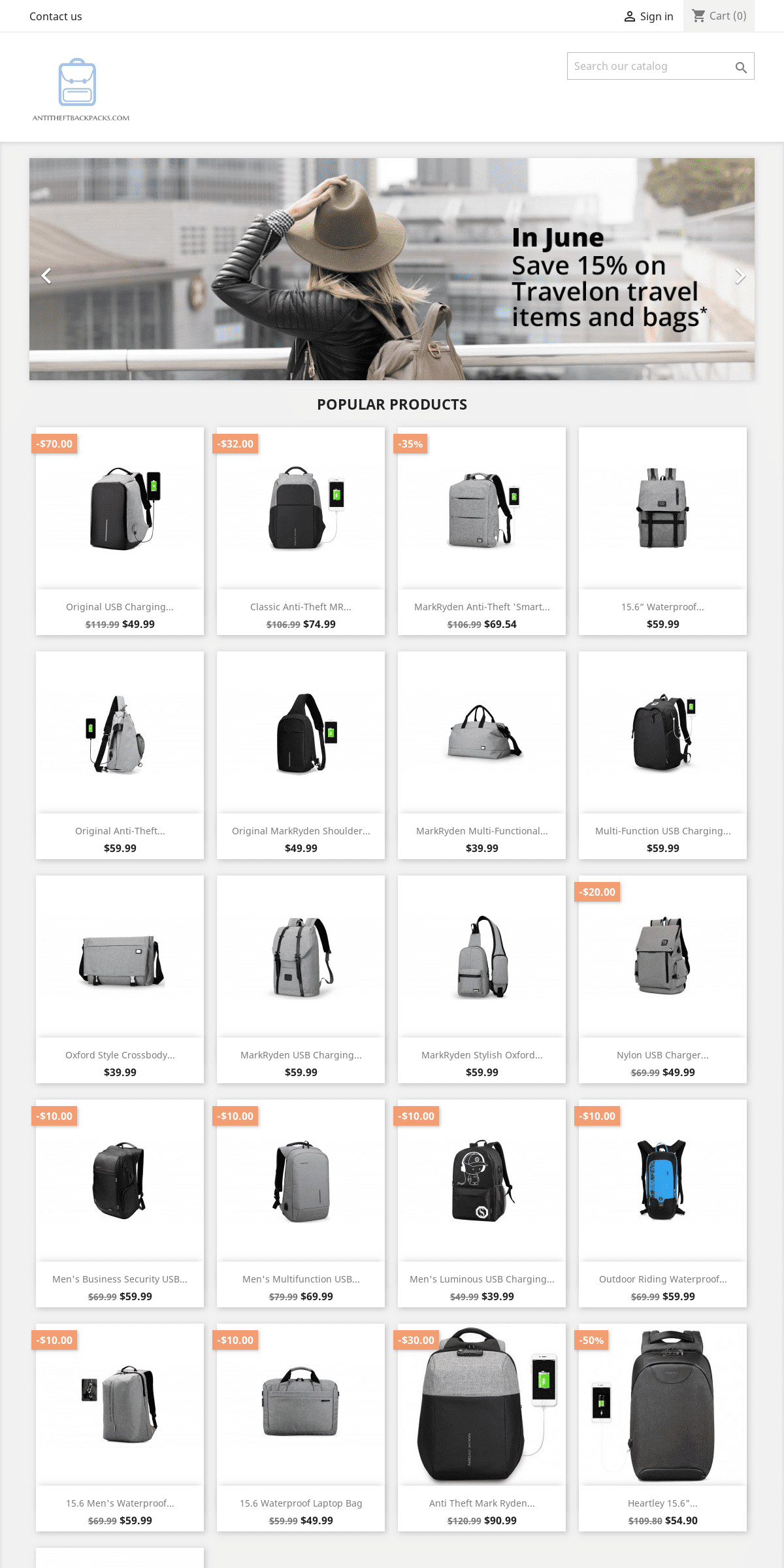 Best Anti Theft Backpacks For Travel Guide 2019