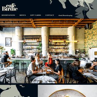 Cafe Birdie - Bistro - 5631 N Figueroa St., Los Angeles, CA 90042