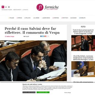 Perché il caso Salvini deve far riflettere. Il commento di Vespa - Formiche.net