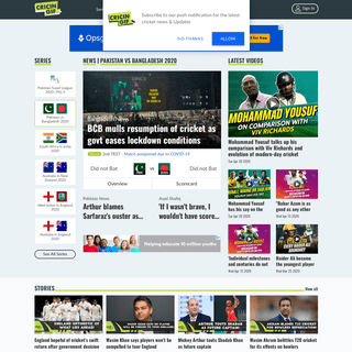 Live Cricket Scores, Cricket Streaming, Ball by Ball Commentary and Highlights - Cricingif