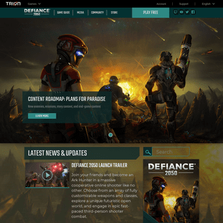 Defiance - PC & Console Game – Sci-fi Shooter MMO