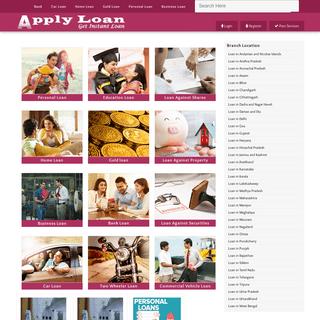 Apply Loan - Get Instant Loan