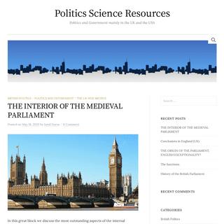 Politicsresources.net - Official Web Site ✔
