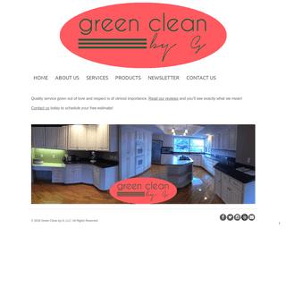 Green Clean by G, LLC - Portland, Beaverton, Gresham Cleaning Organizing