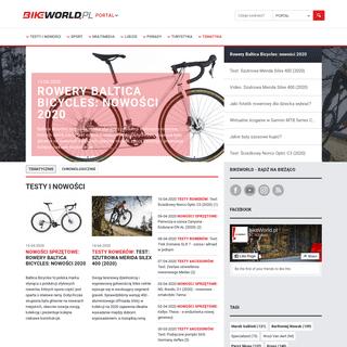 Bikeworld.pl - Najpopularniejszy portal rowerowy w Polsce