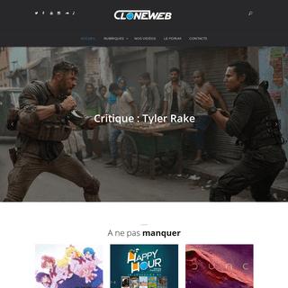 CloneWeb – L'actualité des héros
