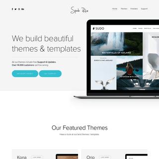 Home - Spab Rice - Premium Wordpress Themes and Templates