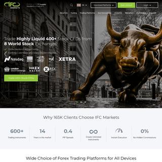 CFD Broker - Online Forex Broker - Forex Market - IFCM