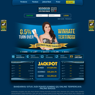 Asiabandarq Agen Resmi Bandarq Pokerqq Domino99 Dominoqq Online