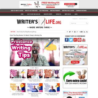 Writer's Life.org - Where Writers Thrive
