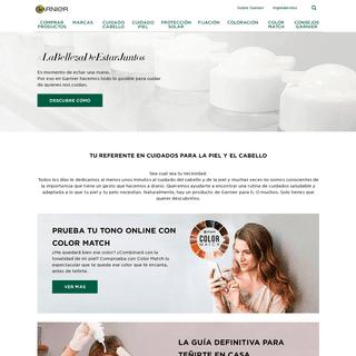Productos de belleza natural para la piel y el cabello - Garnier
