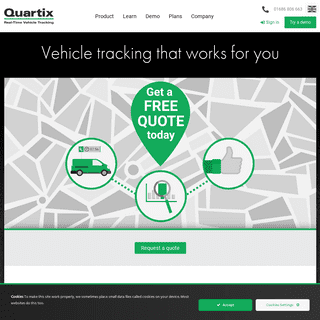 Vehicle Tracking System for Businesses - Quartix Vehicle Tracking (UK)