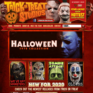 Halloween Masks, Scary Halloween Masks, Scary Halloween Costumes and Props - TRICK or TREAT STUDIOS