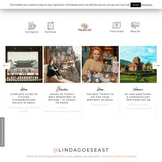 ArchiveBay.com - lindagoeseast.com - Home - Linda Goes East