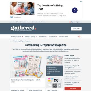 Cardmaking & Papercraft magazine - Gathered
