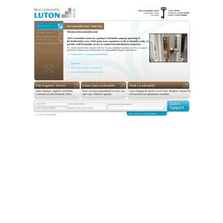 Best Locksmiths Luton - Home Page