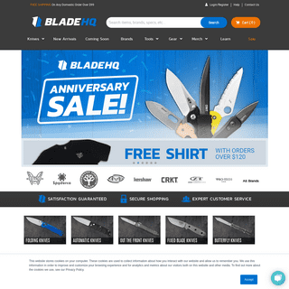 Knives and Outdoor Gear - Huge Selection - Blade HQ