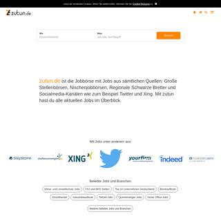 zutun - Die Jobbörse mit allen Quellen - zutun.de