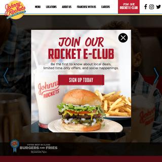 ArchiveBay.com - johnnyrockets.com - Johnny Rockets- Burgers, Shakes, Fries & Fun!