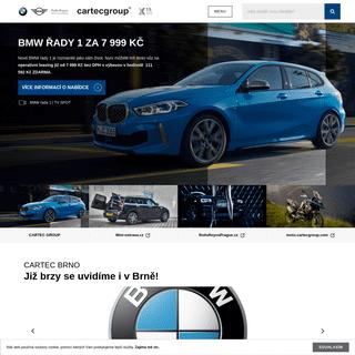BMW CarTec Group - Prodejce vozů BMW - MINI - Rolls-Royce - BMW Motorrad - CarTec Group BMW