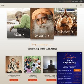 Official Website of Sadhguru, Isha Foundation - United States